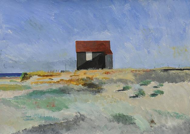 Rye Harbour hut