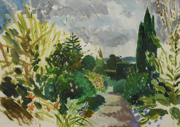 Great Dixter upper garden