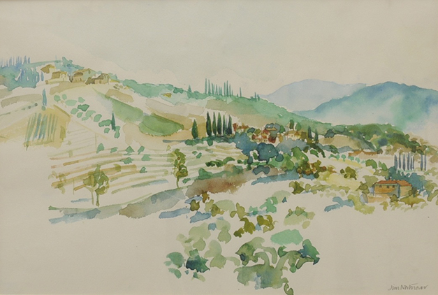 Landscape, Panzano