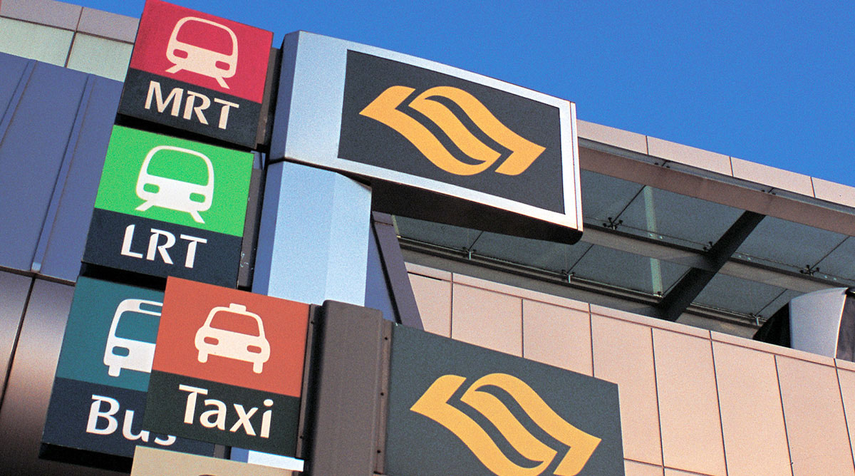 Land Transport Authority   Singapore: System identity for Singapore's transport system