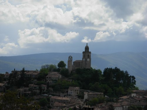 Ascension Day: A hill town in Haute Provence