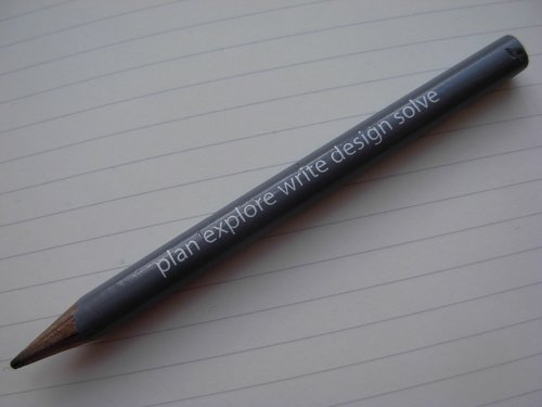 Design on a pencil
