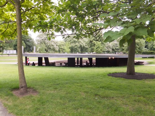 Serpentine's dark pavilion