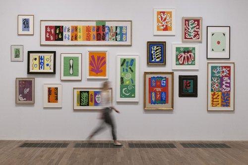 Matisse's supergraphics