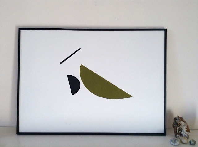Birdmarks: A new edition of screen prints